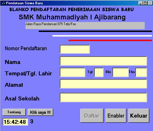 Students Registration   Learn Visual Basic